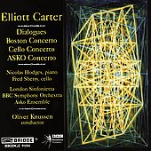 Music of Elliott Carter Vol 7 / Knussen, Hodges