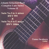 Bach:Complete Lute Suites II