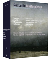 Romantic Masterpieces, Performances & Documentaries / Brahms, Mendelssohn, Schumann / Shaham, Abbado, Argerich [4 DVD]