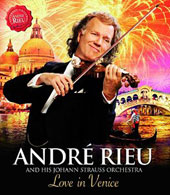 André Rieu and his Johann Strauss Orchestra / Love In Venice - The 10th Anniversary Concert [Blu-ray]