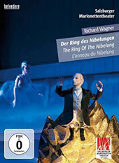 Wagner. The Ring. Salzburg Marionette Theatre - the tetralogy in one single evening with actors and Marionettes / Music sourced from the Solti/Vienna SO cycle, with Nilsson, Windgassen et al. [DVD]