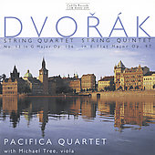 Dvorak: String Quartet no 13, String Quintet / Tree, Pacifica