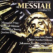 Handel: Messiah / Somary, Price, Minton, Young, Diaz