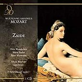 Mozart: Zaide, etc / Schuricht, Rischner, Wunderlich, Stader