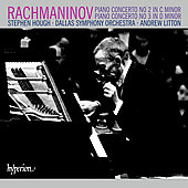 Rachmaninov: Piano Concertos no 2 & 3 / Hough, Litton, et al