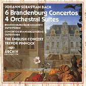 Bach: 6 Brandenburg Concertos, 4 Suites / Pinnock, et al