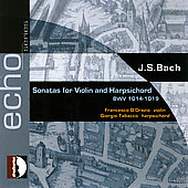 Echo - Bach: Sonatas for Violin & Harpsichord