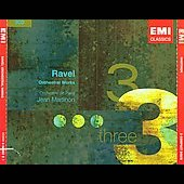 Triples - Ravel: Orchestral Works / Jean Martinon, Orchestre de Paris