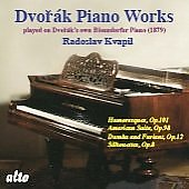 Dvorák: Humoresques for Piano Op 101, American Suite Op 98, etc / Radoslav Kvapil