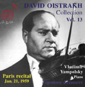 Legendary Treasures - David Oistrakh Collection Vol 13