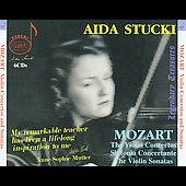 Legendary Treasures - A&iuml;da Stucki plays Mozart Vol 1