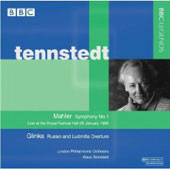 Mahler: Symphony no 1 / Klaus Tennstedt, et al