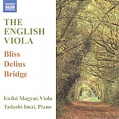 English Viola - Bliss, Delius, Bridge