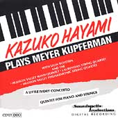 Kazuko Hayami Plays Meyer Kupferman / Botstein, et al