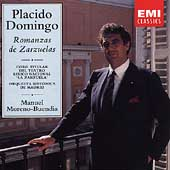 Romanzas de Zarzuelas / Placido Domingo