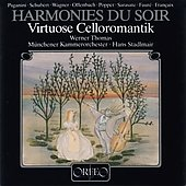 Romantic Virtuoso Cello Music / Werner Thomas