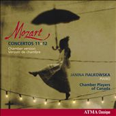 Mozart: Piano Concertos Nos. 11-12 / Janina Fialkowska, piano