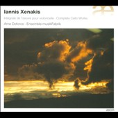 Iannis Xenakis: Complete works for cello / Ame Deforce, cello
