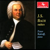 J.S. Bach: French Suite BWV 816; English Suite BWV 808; Partita BWV 826 / Peter Kairoff, piano