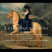 Luigi Boccherini: Six Quartets for clavecin & strings / La Real Camara
