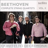 Beethoven: Complete String Quartets, Vol. 2 - No. 8, Op. 59; No. 12, Op. 127 / Quartetto di Cremona