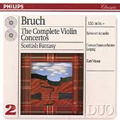 Bruch: Complete Violin Concertos, Scottish Fantasy / Accardo