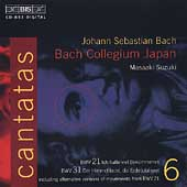 Bach: Cantatas Vol 6 / Suzuki, Bach Collegium Japan