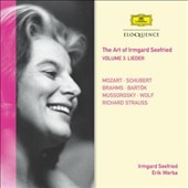 The Art of Irmgard Seefried, Vol. 3: Lieder - Mozart, Schubert, Brahms, Bartók, Mussorgsky, Etc.