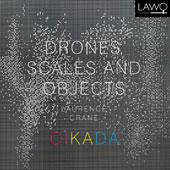 Laurence Crane (b.1961): Drones, Scales and Objects - chamber works / Cikada Ensemble