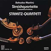 Martinu: Complete String Quartets, etc / Stamitz-Quartett