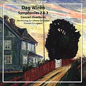 Wirén: Symphonies 2 and 3, etc / Dausgaard, Norrköping SO