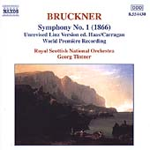 Bruckner: Symphony no 1 / Tintner, Royal Scottish National