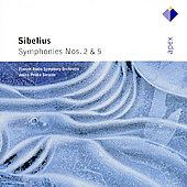 Sibelius: Symphonies no 2 & 5 / Saraste, Finnish Radio SO