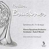 Bruckner: Symphony no 7 / Moralt, Vienna Symphony Orchestra