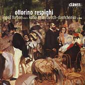 Respighi: Sonatas for Violin and Piano / Turban, Nemirovitch