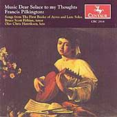 Pilkington: Music Dear Solace to my Thoughts / Fithian