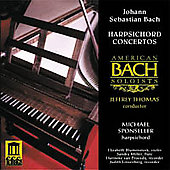 Bach: Harpsichord Concertos / Sponseller, et al