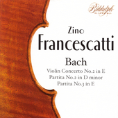 J.S. Bach: Works for Violin / Zino Francescatti