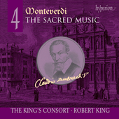 Monteverdi: Sacred Music Vol 4 / Robert King, King's Consort
