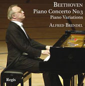 Beethoven: Piano Concerto no 3; Piano Variations (Eroica, Rule Britannia, et al.) / Alfred Brendel