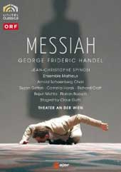 Handel: Messiah / Spinosi/Ensemble Matheus, Gritton, Horak, Pollmann [DVD]
