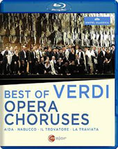 Best of Verdi Opera Choruses / Chorus & Orchestra of the Royal Theater of Parma; San Carlo Theater Chorus & Orch.; Luisotti; Termirkanov; Brott [Blu-ray]