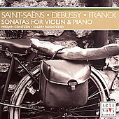 Saint-Sa&euml;ns, Debussy, Franck: Violin Sonatas / Contzen