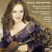 Brahms, Joachim: Violin Concertos / Rachel Barton