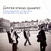 Britten, Shostakovich / The Jupiter String Quartet