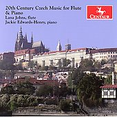 20th Century Czech Music for Flute and Piano / Johns