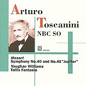 Toscanini conducts Mozart and Vaughan-Williams