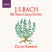 Bach: Six Solo Cello Suites / David Kennedy
