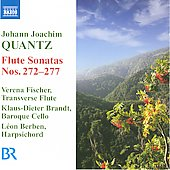 Johann Joachim Quantz: Flute Sonatas Nos. 272-277