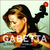 Il Progetto Vivaldi: Concertos for Cello RV.410, 356, 418, 424, 413, 401; 'Winter' from the Four Seasons / Sol Gabetta, cello